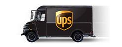 Acryglas mit UPS geliefert